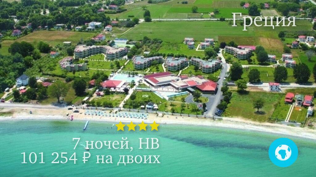 Тур в Пиерию в отель Poseidon Palace 4* (Греция) на 7 ночей с 03.06.19 от 101 254 рублей (HB) на двоих
